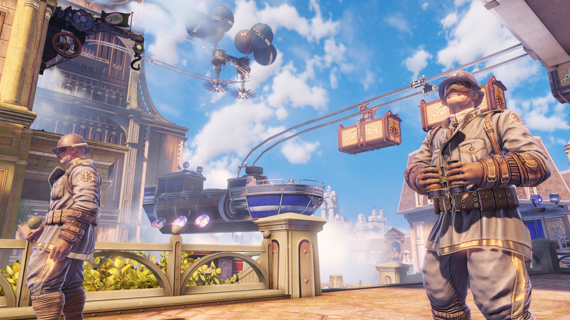 Bioshock Infinite Videos Screenshots Wallpapers